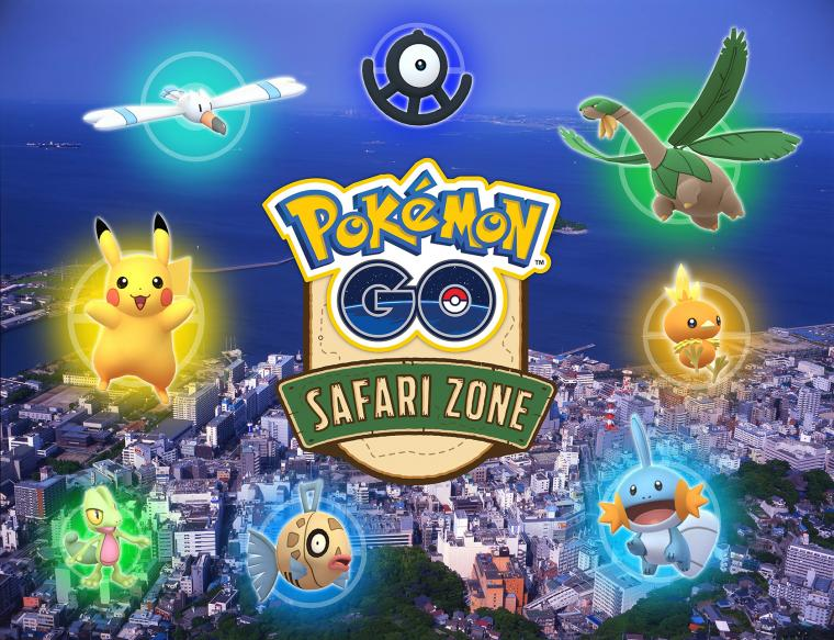 Pokémon GO Safari Zone in YOKOSUKAの画像