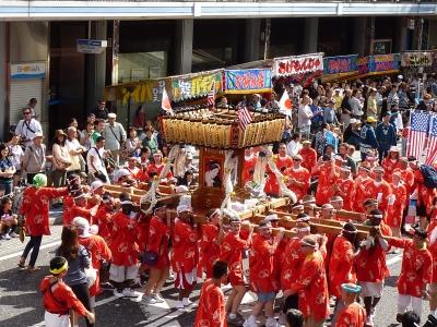 Yokosuka Mikoshi Parade