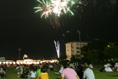 Nishi District Summer Fireworks
