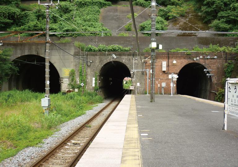 七釜トンネル