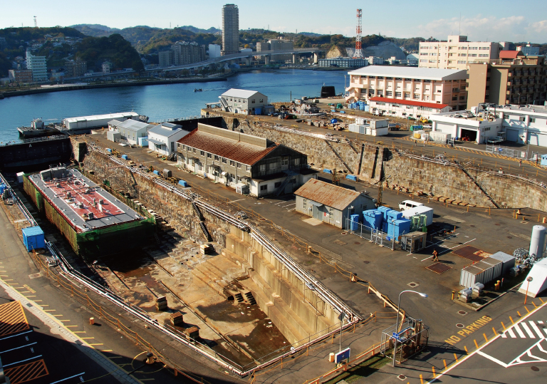 U.S. Fleet Activities Yokosuka Dry Docks No. 1 – No. 6