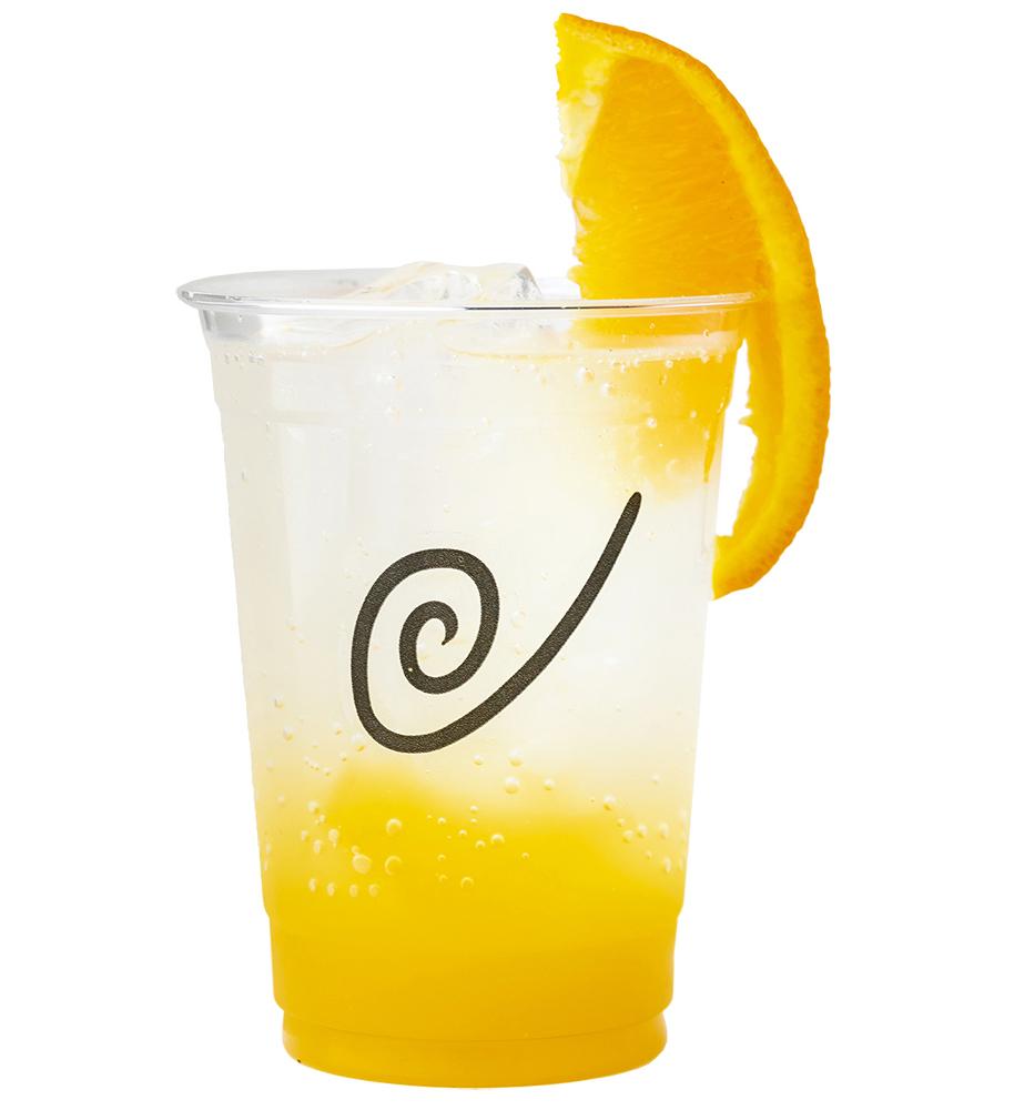 オレンジ好きレディに贈る ぷるぷるオレンジゼリーソーダ