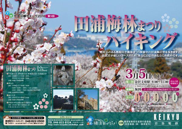 2010年度 【第5回】田浦梅林まつりハイキング
